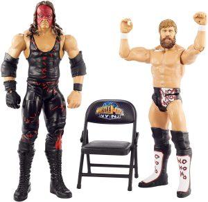 Figura de Daniel Bryan de Mattel y Kane - Muñecos de Daniel Bryan - Figuras coleccionables de luchadores de WWE