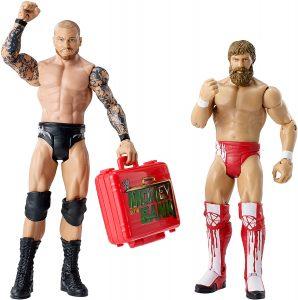 Figura de Daniel Bryan de Mattel y Randy Orton - Muñecos de Daniel Bryan - Figuras coleccionables de luchadores de WWE