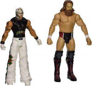 Figura de Daniel Bryan de Mattel y Rey Mysterio - Muñecos de Daniel Bryan - Figuras coleccionables de luchadores de WWE