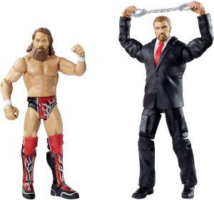 Figura de Daniel Bryan de Mattel y Triple H - Muñecos de Daniel Bryan - Figuras coleccionables de luchadores de WWE