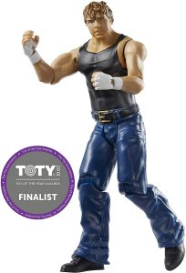 Figura de Dean Ambrose de Mattel 11 - Muñecos de Dean Ambrose - Figuras coleccionables de luchadores de WWE