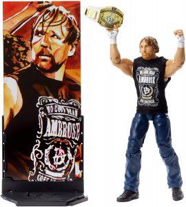 Figura de Dean Ambrose de Mattel 9 - Muñecos de Dean Ambrose - Figuras coleccionables de luchadores de WWE