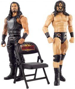 Figura de Drew McIntyre y Roman Reigns de Mattel - Muñecos de Drew McIntyre - Figuras coleccionables de luchadores de WWE