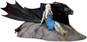 Figura de Drogon de Juego de Tronos de Dark Horse - Muñecos de Juego de tronos de Drogon - Figuras coleccionables de los Dragones de Juego de Tronos