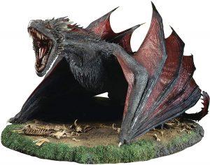 Figura de Drogon de Juego de Tronos de ThreeZero - Muñecos de Juego de tronos de Drogon - Figuras coleccionables de los Dragones de Juego de Tronos
