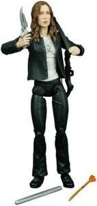 Figura de Faith de Buffy Cazavampiros de Diamond - Muñecos de Buffy Cazavampiros - Figuras coleccionables de Buffy Cazavampiros