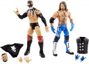 Figura de Finn Balor de Mattel y Aj Styles - Muñecos de Finn Balor - Figuras coleccionables de luchadores de WWE