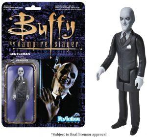 Figura de Gentleman de Buffy Cazavampiros de ReAction - Muñecos de Buffy Cazavampiros - Figuras coleccionables de Buffy Cazavampiros