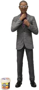 Figura de Gus Fring de Breaking Bad de Mezco toys - Muñecos de Breaking Bad - Figuras coleccionables de Breaking Bad