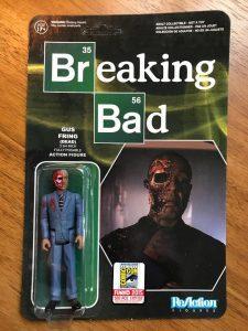 Figura de Gus Fring de Breaking Bad de ReAction Dead - Muñecos de Breaking Bad - Figuras coleccionables de Breaking Bad