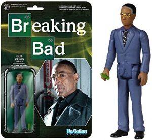 Figura de Gus Fring de Breaking Bad de ReAction - Muñecos de Breaking Bad - Figuras coleccionables de Breaking Bad