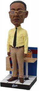 Figura de Gus Fring de Breaking Bad de Royal Bobbles - Muñecos de Breaking Bad - Figuras coleccionables de Breaking Bad