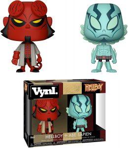 Figura de Hellboy y Abe Sapien de Vynl - Muñecos de Hellboy - Figuras coleccionables de Hellboy