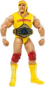 Figura de Hulk Hogan de Mattel - Muñecos de Hulk Hogan - Figuras coleccionables de luchadores de WWE