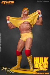 Figura de Hulk Hogan de Storm Collectibles - Muñecos de Hulk Hogan - Figuras coleccionables de luchadores de WWE