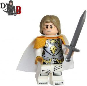 Figura de Jaime Lannister de Juego de Tronos de Demonhunter Bricks - Muñecos de Juego de tronos de Jaime Lannister - Figuras coleccionables de Jaime Lannister de Game of Thrones