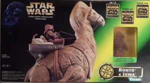 Figura de Jawa y Ronto de Kenner - Los mejores de Jawas de Star Wars - Figuras coleccionables de Jawa de Star Wars