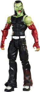 Figura de Jeff Hardy de Mattel Zombie - Muñecos de Jeff Hardy - Figuras coleccionables de luchadores de WWE