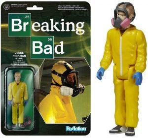 Figura de Jesse Pinkman Cook de Breaking Bad de ReAction - Muñecos de Breaking Bad - Figuras coleccionables de Breaking Bad