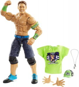 Figura de John Cena de Mattel 3 - Muñecos de John Cena - Figuras coleccionables de luchadores de WWE