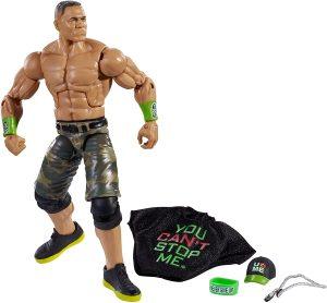 Figura de John Cena de Mattel Elite 2 - Muñecos de John Cena - Figuras coleccionables de luchadores de WWE