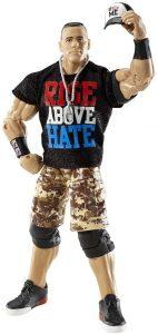 Figura de John Cena de Mattel Elite 3 - Muñecos de John Cena - Figuras coleccionables de luchadores de WWE