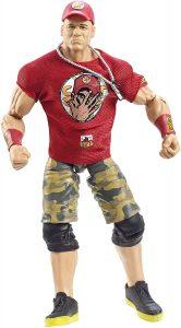 Figura de John Cena de Mattel Elite - Muñecos de John Cena - Figuras coleccionables de luchadores de WWE