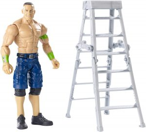 Figura de John Cena de Mattel - Muñecos de John Cena - Figuras coleccionables de luchadores de WWE