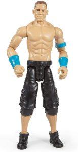 Figura de John Cena de Mattel clásico - Muñecos de John Cena - Figuras coleccionables de luchadores de WWE