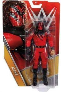 Figura de Kane de Mattel 3 - Muñecos de Kane - Figuras coleccionables de luchadores de WWE