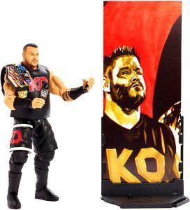 Figura de Kevin Owens de Mattel 2 - Muñecos de Kevin Owens - Figuras coleccionables de luchadores de WWE