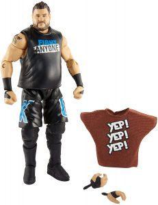 Figura de Kevin Owens de Mattel 3 - Muñecos de Kevin Owens - Figuras coleccionables de luchadores de WWE