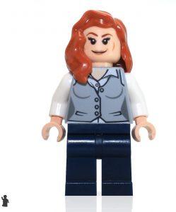 Figura de Lois Lane de Bombshells de LEGO - Figuras coleccionables de Lois Lane - Muñecos de Lois Lane