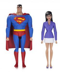 Figura de Lois Lane y Superman de la serie animada - Figuras coleccionables de Lois Lane - Muñecos de Lois Lane