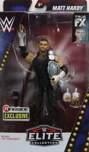 Figura de Matt Hardy de Mattel Elite - Muñecos de Matt Hardy - Figuras coleccionables de luchadores de WWE