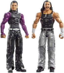Figura de Matt Hardy y Jeff Hardy de Mattel 2 - Muñecos de los Hardy Boyz - Figuras coleccionables de luchadores de WWE