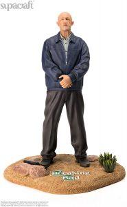Figura de Mike Ehrmantraut de Breaking Bad de Supacraft - Muñecos de Breaking Bad - Figuras coleccionables de Breaking Bad
