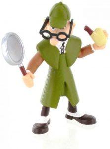 Figura de Mortadelo Sherlock Mortadelo y Filemon de Bullyland - Muñecos de Sherlock - Figuras coleccionables de Sherlock Holmes