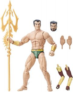 Figura de Namor de Marvel Legends Series - Figuras coleccionables de Namor - Muñecos de Namor