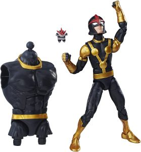 Figura de Nova de Marvel Legends - Figuras coleccionables de Nova - Muñecos de Nova