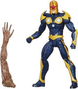 Figura de Nova de Marvel Legends Infinite Series - Figuras coleccionables de Nova - Muñecos de Nova
