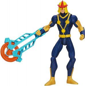 Figura de Nova de Marvel Ultimate - Figuras coleccionables de Nova - Muñecos de Nova