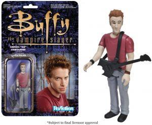 Figura de Oz de Buffy Cazavampiros de ReAction - Muñecos de Buffy Cazavampiros - Figuras coleccionables de Buffy Cazavampiros