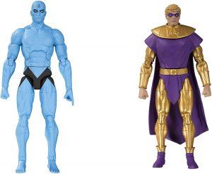 Figura de Ozymandias y Dr. Manhattan de Watchmen de DC - Figuras coleccionables de Watchmen - Muñecos de Watchmen