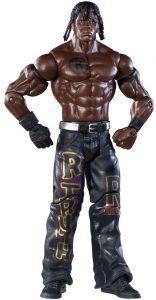 Figura de R Truth de Mattel 5 - Muñecos de R Truth - Figuras coleccionables de luchadores de WWE