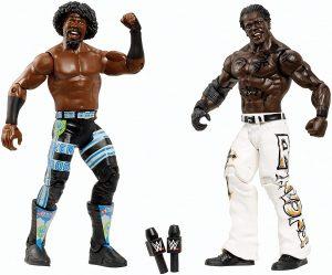 Figura de R Truth y Xavier Woods de Mattel - Muñecos de R Truth - Figuras coleccionables de luchadores de WWE