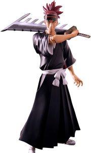Figura de Renji de Bleach de Toynami - Muñecos de Bleach - Figuras coleccionables del anime de Bleach