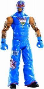 Figura de Rey Mysterio de Mattel 11 - Muñecos del Rey Mysterio - Figuras coleccionables de luchadores de WWE