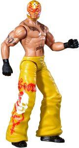 Figura de Rey Mysterio de Mattel 12 - Muñecos del Rey Mysterio - Figuras coleccionables de luchadores de WWE