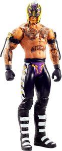 Figura de Rey Mysterio de Mattel 16 - Muñecos del Rey Mysterio - Figuras coleccionables de luchadores de WWE
